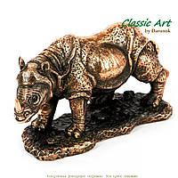 Статуэтка носорог из полистоуна средняя ES166
