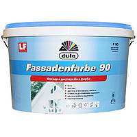 Фасадная краска Dufa Fassadenfarbe F90 матовая белая 10л