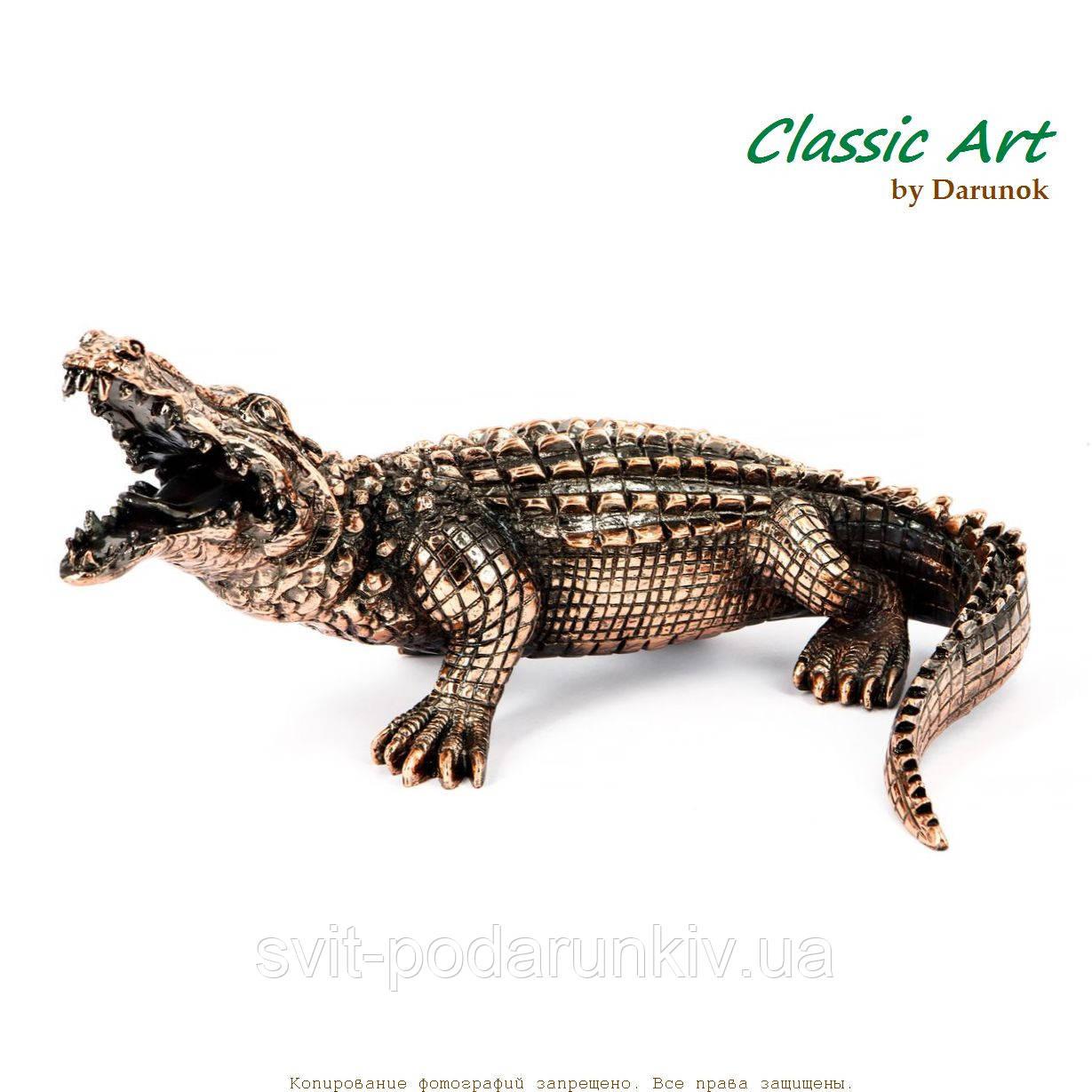 Статуэтка крокодил фигурка от Classic Art ES026