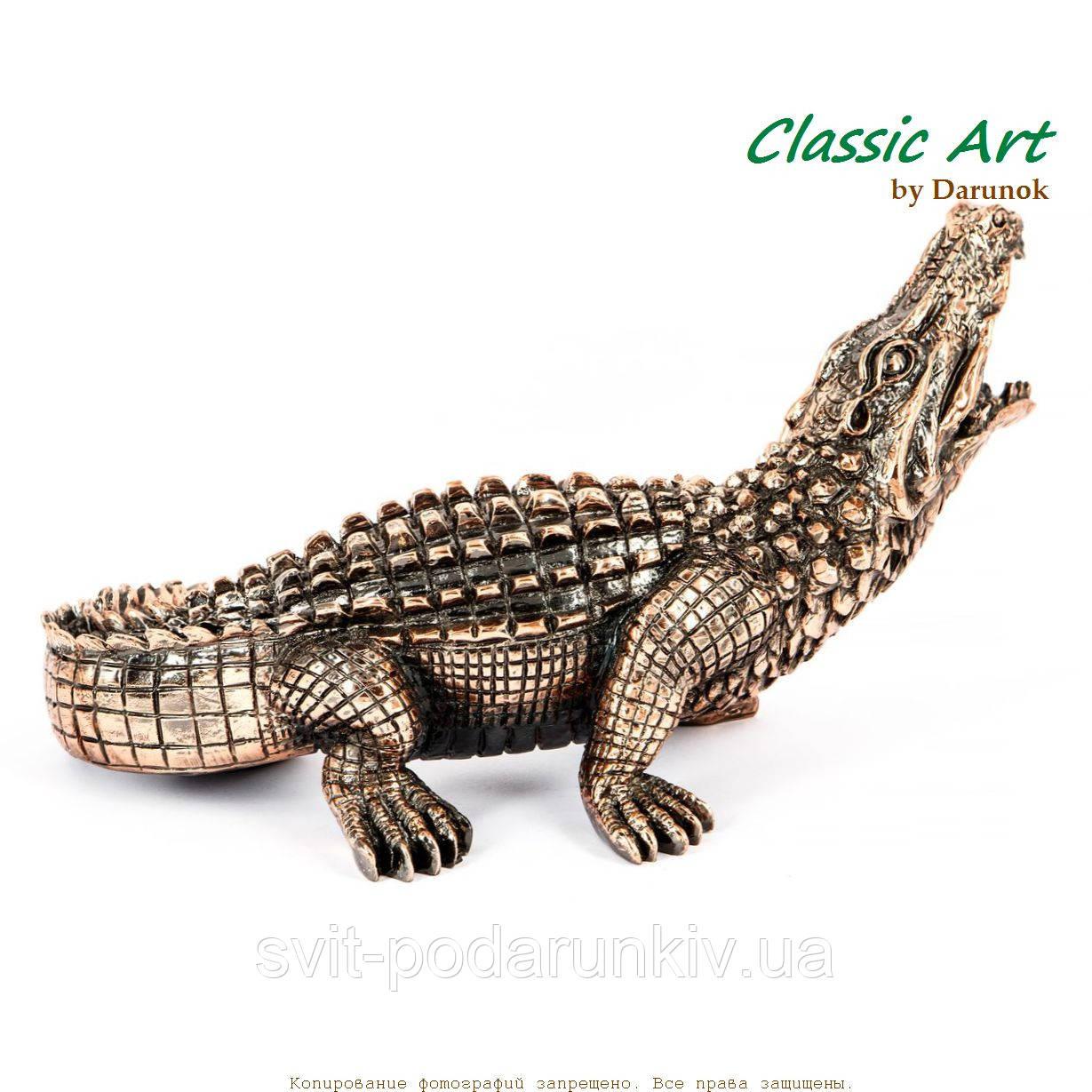 cтатуэтка крокодил