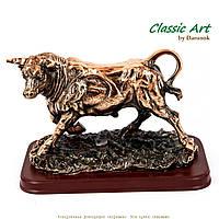 "Статуэтка быка на подставке фигурка ""Коррида"" ES011-2"