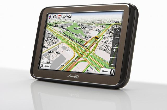 Автомобильные системы навигации, GPS