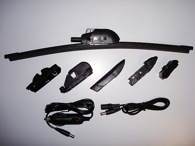 Автомобильные щетки-дворники стеклоочистителя с подогревом Cartoy 500 мм