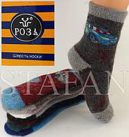 Детские шерстянные носки с махрой внутри DZ-03-03 2-4 12-19 Z. В упаковке 12 пар