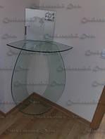Стеклянный столик под телевизор