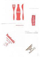 Салфетки бумажные с логотипом заказчика