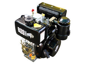 Дизельный двигатель BIZON 178F, под шлицы (Ф25 мм), фото 2