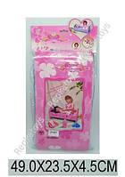 Кроватка для кукол в пакете (ОПТОМ) 60554P