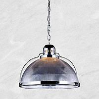 Светильник купол [ Loft Transparent Chrome ]