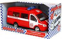 Машина инерционная Газель <<Пожарная служба>>