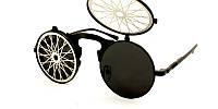 Солнцезащитные очки Avatar koks с черными круглыми линзами