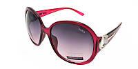 Женские солнцезащитные очки бордо