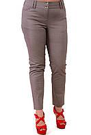 Серые джинсы женские ,в елочку  бр 001-10.