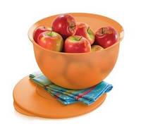 Чаша Очарование 7,5 л Tupperware в оранжевом цвете, фото 1