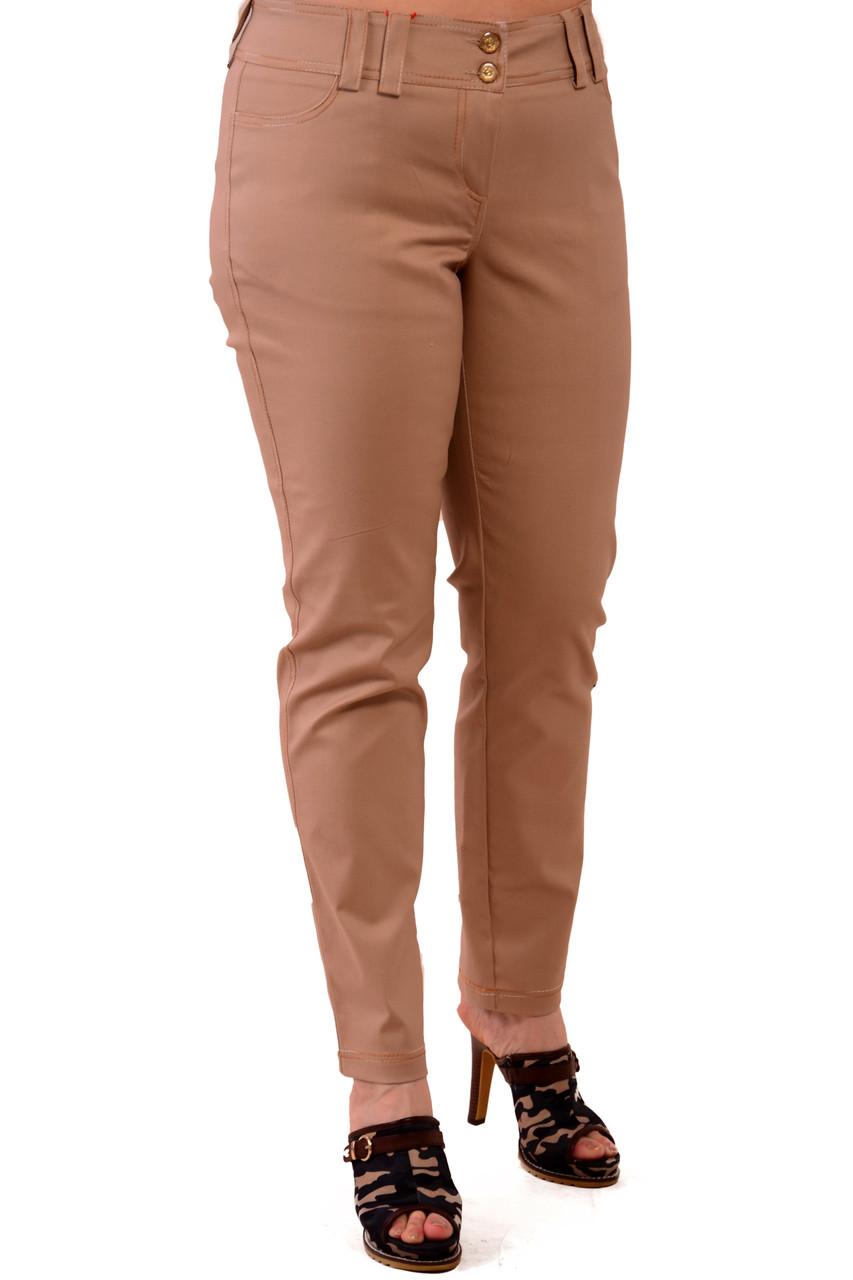 Бежевые джинсы женские, хлопок , 48-56 ,тянутся, бр 001-13.