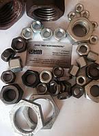 Собственное производство (сталь 3, 20, 35, 45, 09Г2С, 40Х; нержавеющая сталь 12Х18Н10Т), так и штампованные гайки ГОСТ и DIN различных классов прочности (5.0, 6.0, 8.0, 10.0, 12.0).