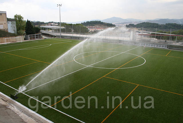 Водяная пушка для полива стадионна, гольф площадок, спортивных площадок