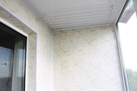 Лучше обшить балкон пластиковой вагонкой на фото Тепловик