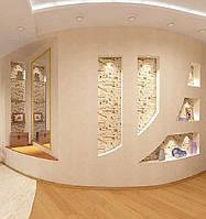 Монтаж стены из гипсокартона с дверным проемом