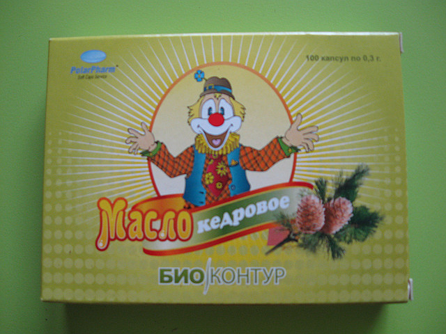 Кедровое масло БиоКонтур,  №60