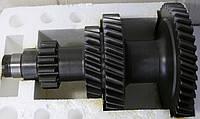 Блок шестерен вала промеж. КПП ГАЗ-53, 3307 (под гайку) <ДК>