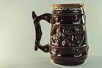 Пивной бокал с козаком