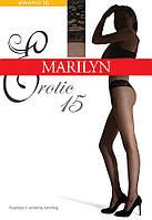 Колготки на силиконовом кружевном поясе Marilyn Erotic VB 15 ден