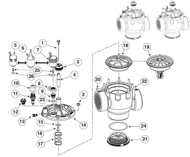 Электромагнитный клапан P220