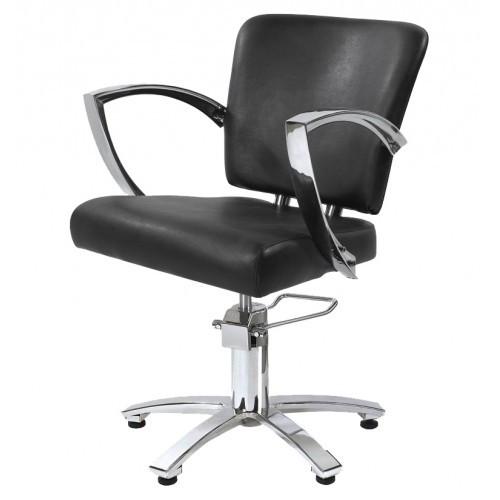 Парикмахерское Кресло  клиента черное 6006bl