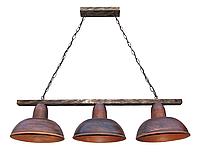 Светильник подвесной Gryb-Light, LOFT Debut P0104-3, керамика, дерево.