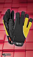 Перчатки рабочие RMC-ANDROMEDA.Защитные перчатки из мягкой высококачественной искусственной кожи и ткани, фото 1