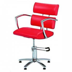 Парикмахерское Кресло  клиента красное