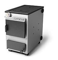 Котёл Буржуй КП-18 кВт с чугунной плитой (выход дымохода приобретается отдельно)