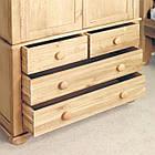Шкаф из массива дерева 018, фото 4