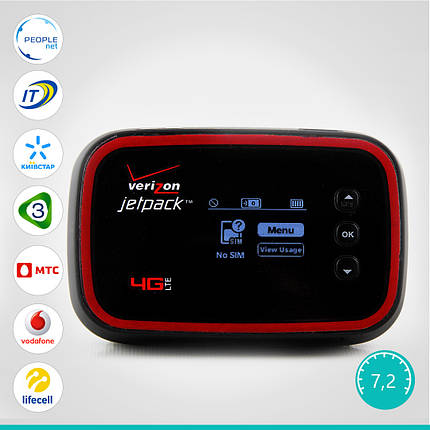Мобильный 3G/4G WiFi Роутер Pantech Jetpack MHS291L (Аккумулятор 4040 mAh + Корейская сборка), фото 2