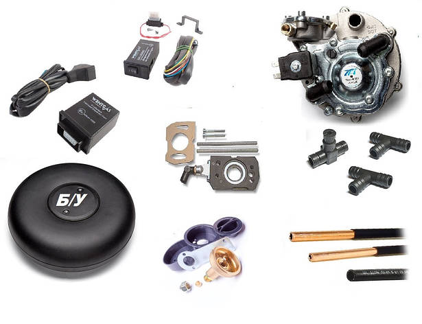 Комплект ГБО 2 на Opel моно инжектор с БУ баллоном, фото 2
