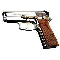 18914 : Пистолет сигнальный EKOL ARAS compact (хром с позолотою)