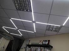 Светодиодное освещение в салоне штор