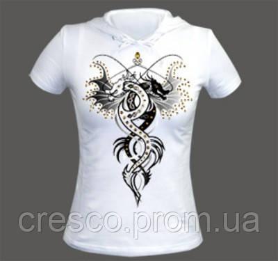 печать на футболках белых