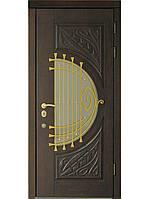 """Элитные входные двери для дома (массив + ковка) модель """"Премьера 1"""""""