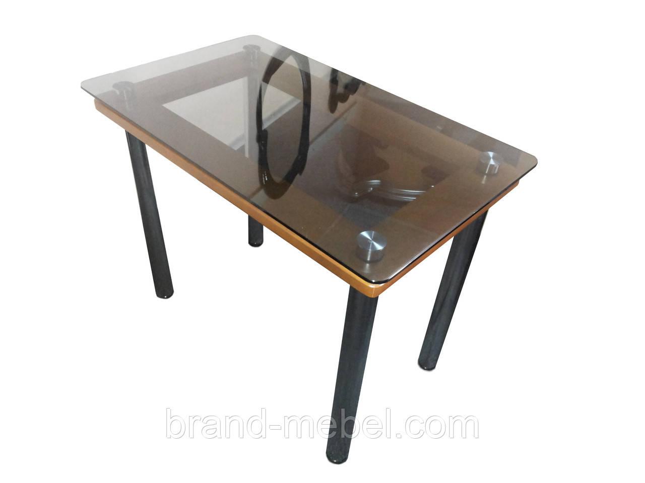 Стол стеклянный Гермес прозрачный