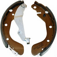 Задние тормозные колодки Шевроле Авео т250 /  Daewoo Kalos / Aveo с 2006 (Брабаные)