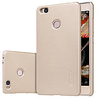 Чехол Nillkin для Xiaomi Mi4s золотистый (+пленка)