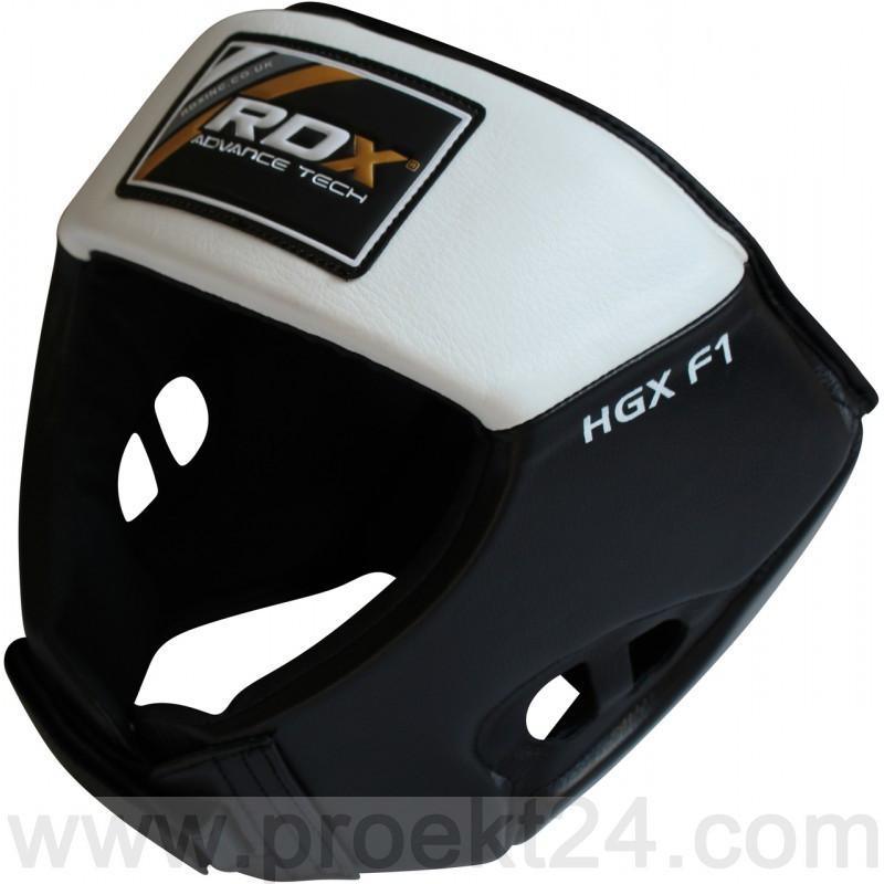 Боксерский шлем RDX White-L