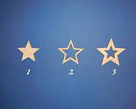 Звезда №2 заготовка для декупажа и росписи