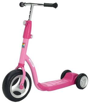 Трехколесный скутер розовый Kettler T07015-0010 , фото 2