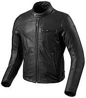 Мотокуртка Revit Flatbush Air Vintage кожа черная, 50