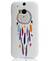 Силиконовый чехол накладка для HTC One M8 с картинкой ловец снов