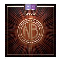 D`Addario NB1152 комплект струн для акустической гитары 11-52
