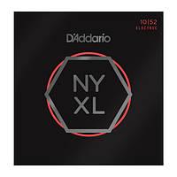 D'Addario NYXL1052 комплект струн для электрогитары 10-52